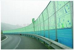 高速公路隔音屏障实心板