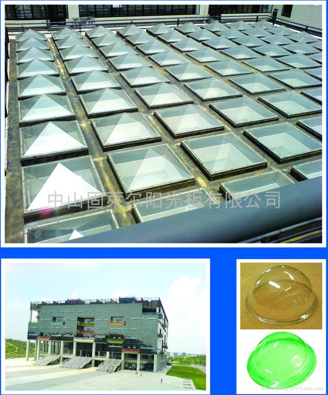 Polycarbonate Solid sheet for skylight covering 1