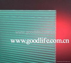 固萊爾陽光板綠色兩層板