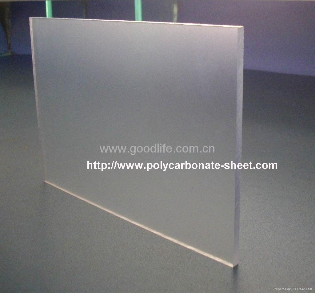 Polycarbonate Abrasive sheet (Clear) 1