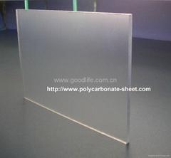 Polycarbonate Abrasive sheet (Clear)