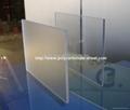 Polycarbonate Abrasive sheet (Clear) 2