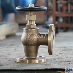 Marine Bronze Angle valve 5k 16k