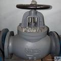jis Marine Cast Iron Globe valve 5k 10k