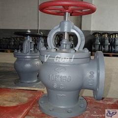 JIS Marine valve Cast Steel Check Globe valve