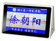 廠家直銷 7寸無線WIFI 雙面液晶電子桌簽