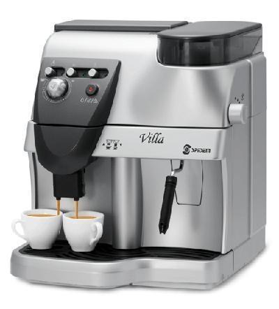 SAECO喜客 旗下Spidem VILLA全自动咖啡机(银 1