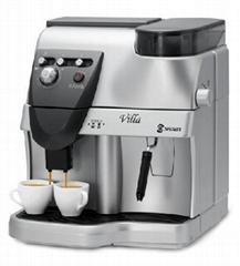 SAECO喜客 旗下Spidem VILLA全自动咖啡机(银