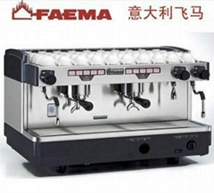 意大利FAEMA飞马半自动咖啡机