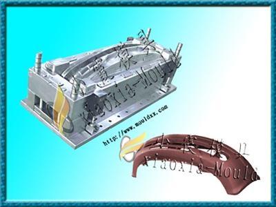 保險杠塑料模具 3