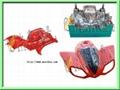 電動車配件塑料模具 3