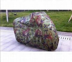 Motorcycle Camouflage 210t silver Water-resistant Electric Bicycle Car Covers