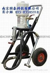 供應韓國PRO-281氣動泵,鋼構船舶油漆柱塞式噴塗機
