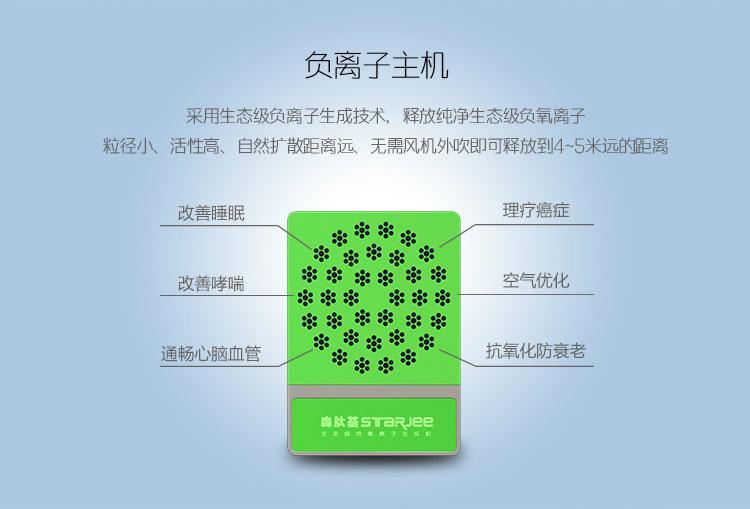 森肽基生態級負氧離子空氣淨化器A8落地型 4
