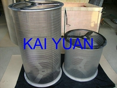 wedge wire drums OD450MM LENGTH:3000MM