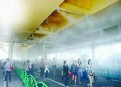 喷雾降温冷雾机