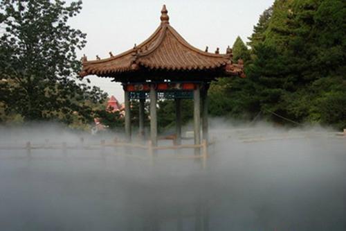 園林景觀人造霧設備 2