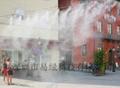 易綠科技噴霧降溫景觀設備