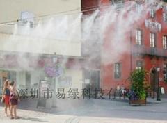易绿科技喷雾降温景观设备