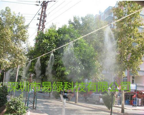 易綠科技噴霧降溫景觀設備 3