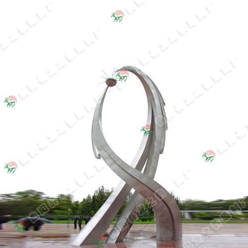 不锈钢雕塑 1