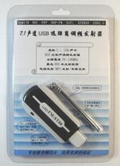 大功率全频段USB调频发射器