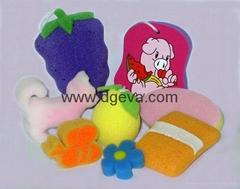 海绵玩具制品