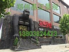 鄭州卡通造型雕塑