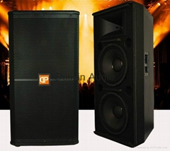 "Dual 15"" Powerful Loudspeaker PA Speaker PRO Audio (SRX725)"