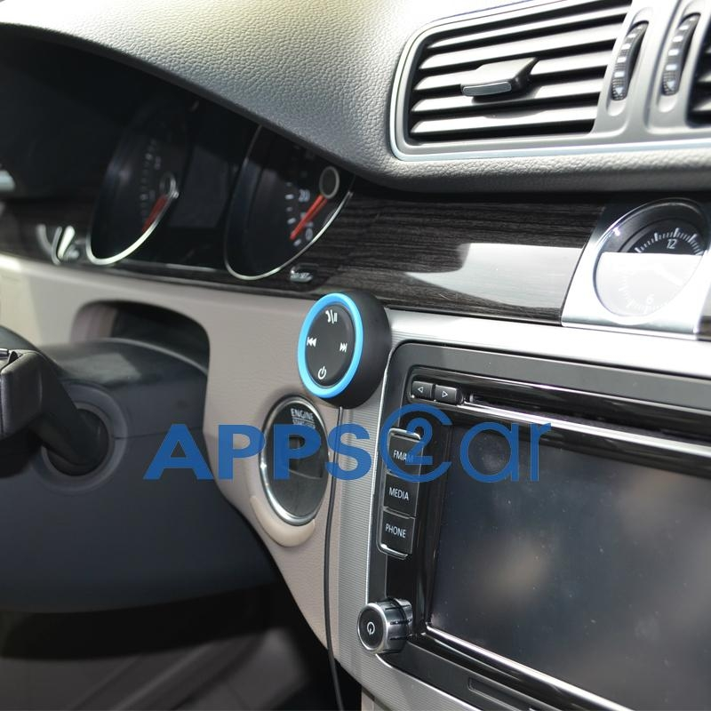 APPS2CAR Bluetooth 4.0 Hands-Free Car Kit for Cars with 3.5mm Aux Input Jack  3