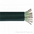 防水橡套扁電纜