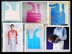 一次性塑料薄膜围裙