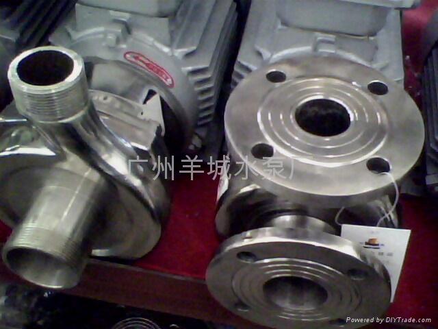 羊城FB型不鏽鋼耐腐蝕離心泵 2