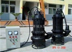 WQ(QW)潜水排污污水提升泵