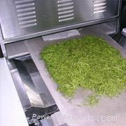 茶葉殺青微波乾燥設備