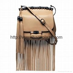 Trendy Long Tassels Across Body Bag