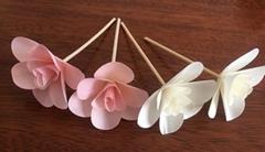 wood diffuser flower