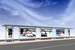 廣州市華盛B款不鏽鋼廣告燈箱