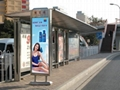 不锈钢公交候车亭(雅宝路)
