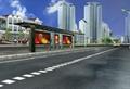 珠海市公交候车亭
