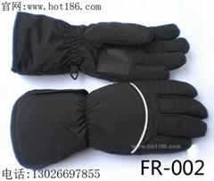 滑雪充电电热手套