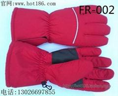 女式充电发热手套