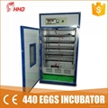 CE approved Poultry egg incubator