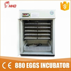 CE approved quality full automatic chicken egg incubator for sale YZITE-9