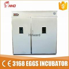 3000 Chicken Eggs Full Automatic Chicken Egg Incubator For Sale YZTIE-19