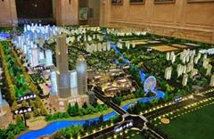 沈阳城市规划沙盘模型