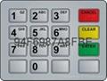 Rugged metal numeric keypad keyboard for