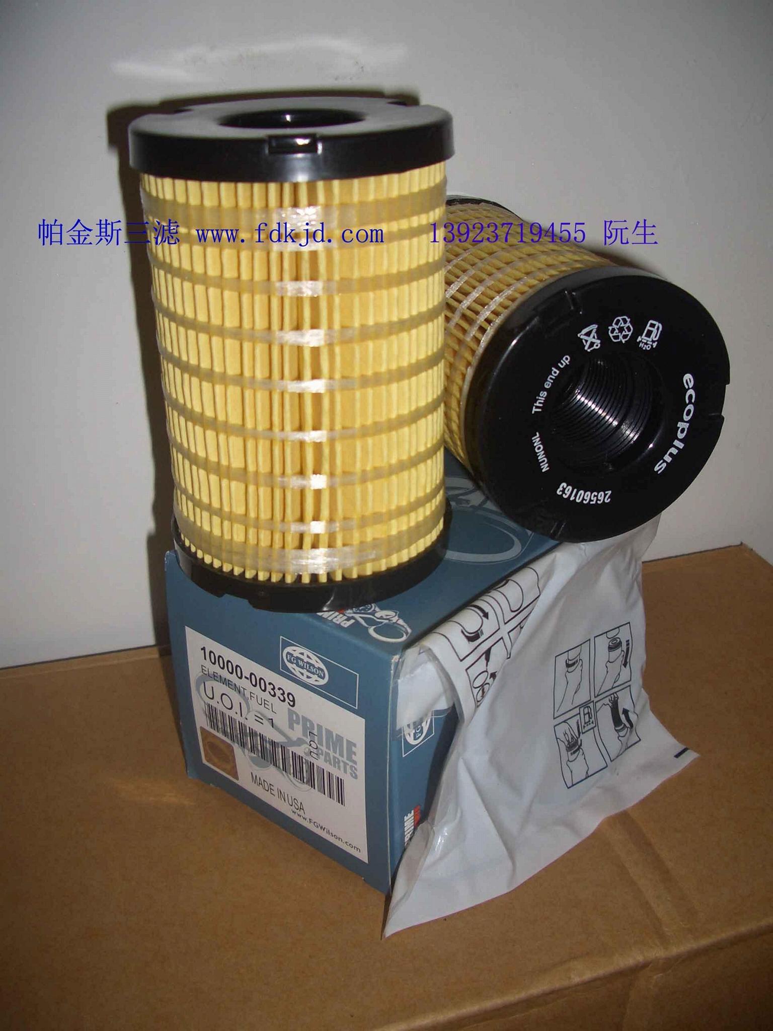 卡特发电机保养三滤耗材 2