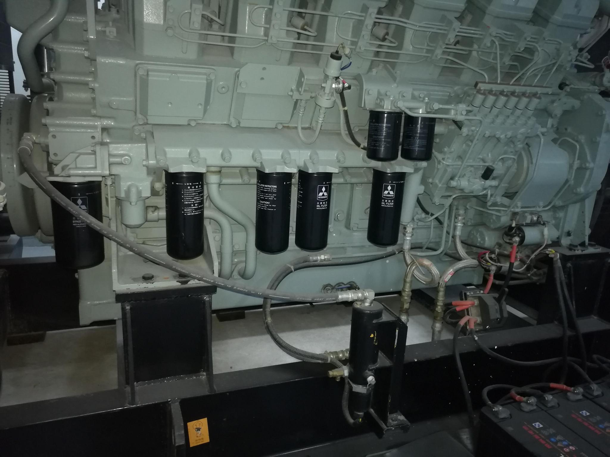 沃爾奔達三菱發電機 3