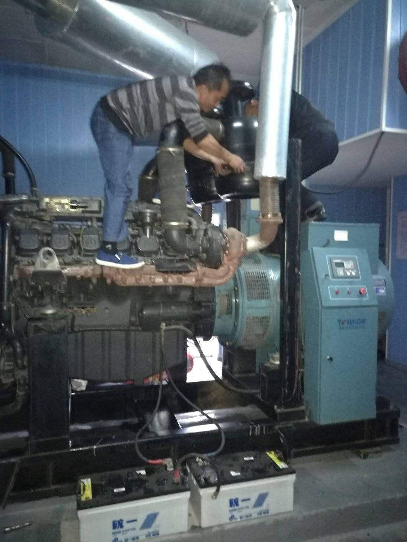 羅湖發電機年度保養 3